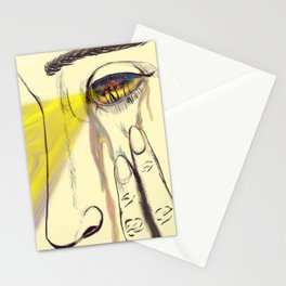 I, Eye, Aye Stationery Cards