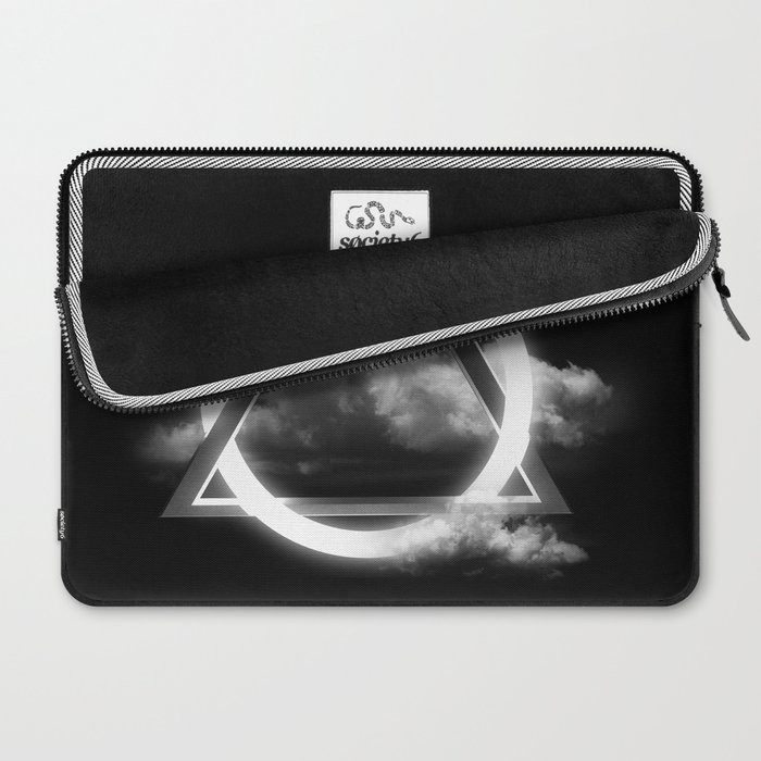 Sacred Geometry - Trinity  06 Laptop Sleeve
