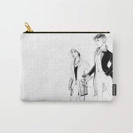 Kaz and Inej Carry-All Pouch