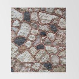 Stone Design Throw Blanket
