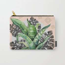 Abstract nature and geometrics Carry-All Pouch