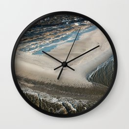 The Shoals of the Cape Fear | Bald Head Island Wall Clock