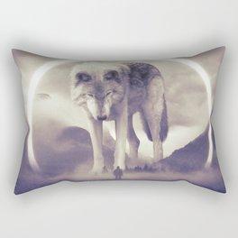 aegis II | wolf Rectangular Pillow