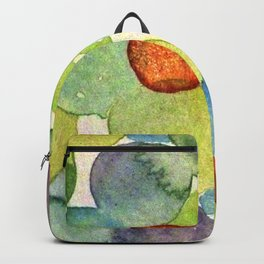 Watercolor - POLKA DOT RUSH HOUR Backpack