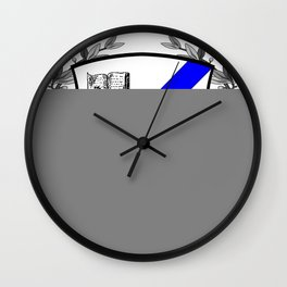 Valeton University Crest Wall Clock