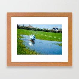 Soccer Ball 1 Framed Art Print