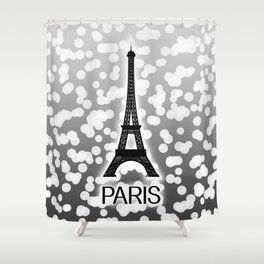 Paris: City of Light, Eiffel Tower Shower Curtain