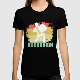 Distressed Accordion Tshirt T-shirt