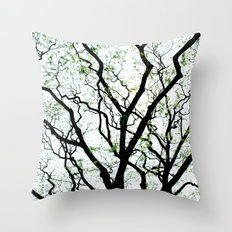 Majestic Roots Throw Pillow
