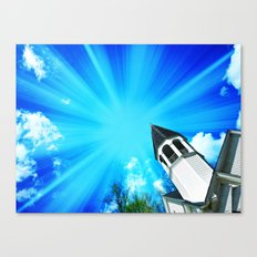 Here Is The Church, Here Is The Steeple Canvas Print