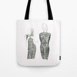 Pink Shibari  Tote Bag