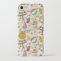 cupcakes iPhone & iPod Cases featuring Cupcakes  by Anna Deegan