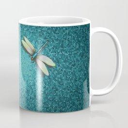 Dragonfly Mosaic Coffee Mug