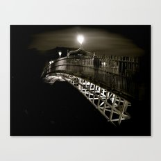 Ha'penny at Night Canvas Print