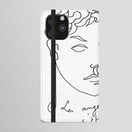 Jean Cocteau Homme  iPhone Wallet Case