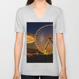 Amusement Park Unisex V-Neck