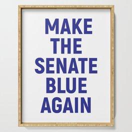 Make the Senate Blue Again Serving Tray
