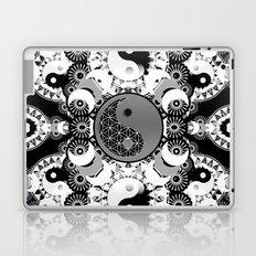 YinYang Sacred Geometry Totem Laptop & iPad Skin