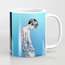 FLOWER BOY TWO: BLUE Coffee Mug