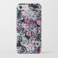 dahlia iPhone & iPod Cases featuring Dahlia by RIZA PEKER