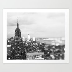 New York Noir Art Print