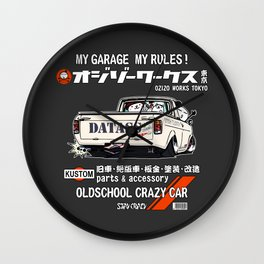 Crazy Car Art 0185 Wall Clock