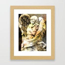 Angels We Have Heard On High Framed Art Print