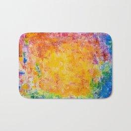 Apollo 7 Abstract Oil Painting Bath Mat