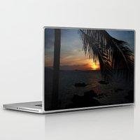 buddah Laptop & iPad Skins featuring Sunset from the Big Buddah Café by Ciaran Mcg