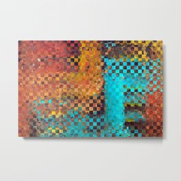 Abstract Modern Art - Pieces 1 - Sharon Cummings Metal Print