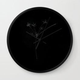 Meditation on Violence Wall Clock
