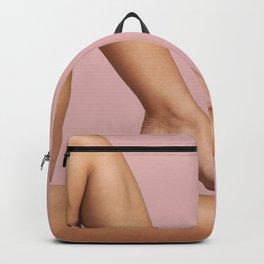 Beautiful Woman Legs Backpack
