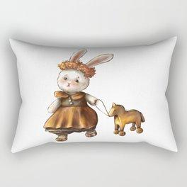 Cute little bunny  Rectangular Pillow