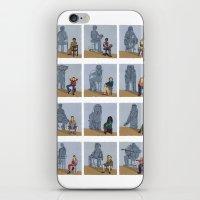 zodiac iPhone & iPod Skins featuring Zodiac by Anastassia Elias