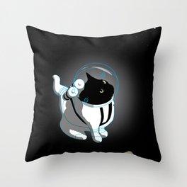 Space Phantom Throw Pillow