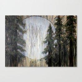 Moonlight through the Redwoods Canvas Print