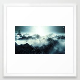 Drakonia Framed Art Print