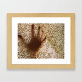 Just Let Me Out Framed Art Print
