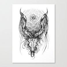Venus Skull Canvas Print