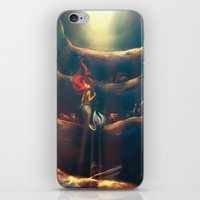 fantasy iPhone & iPod Skins featuring Someday by Alice X. Zhang