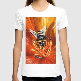 Bee on flower 1 T-shirt
