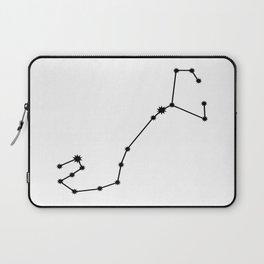 Scorpio Astrology Star Sign Minimal Laptop Sleeve