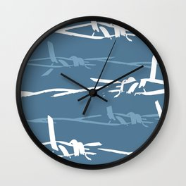 Barbed Wire Wall Clock