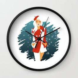 Peacoat Wall Clock