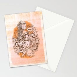 Sacral Chakra - Witches of the Nine Worlds Stationery Cards