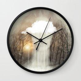 Raining Tears Wall Clock