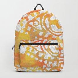 Gelatin Monoprint 4 Backpack