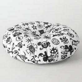 One Piece Jolly Roger Floor Pillow
