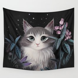 Minty the cat Wall Tapestry