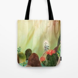 Cactus forest Tote Bag
